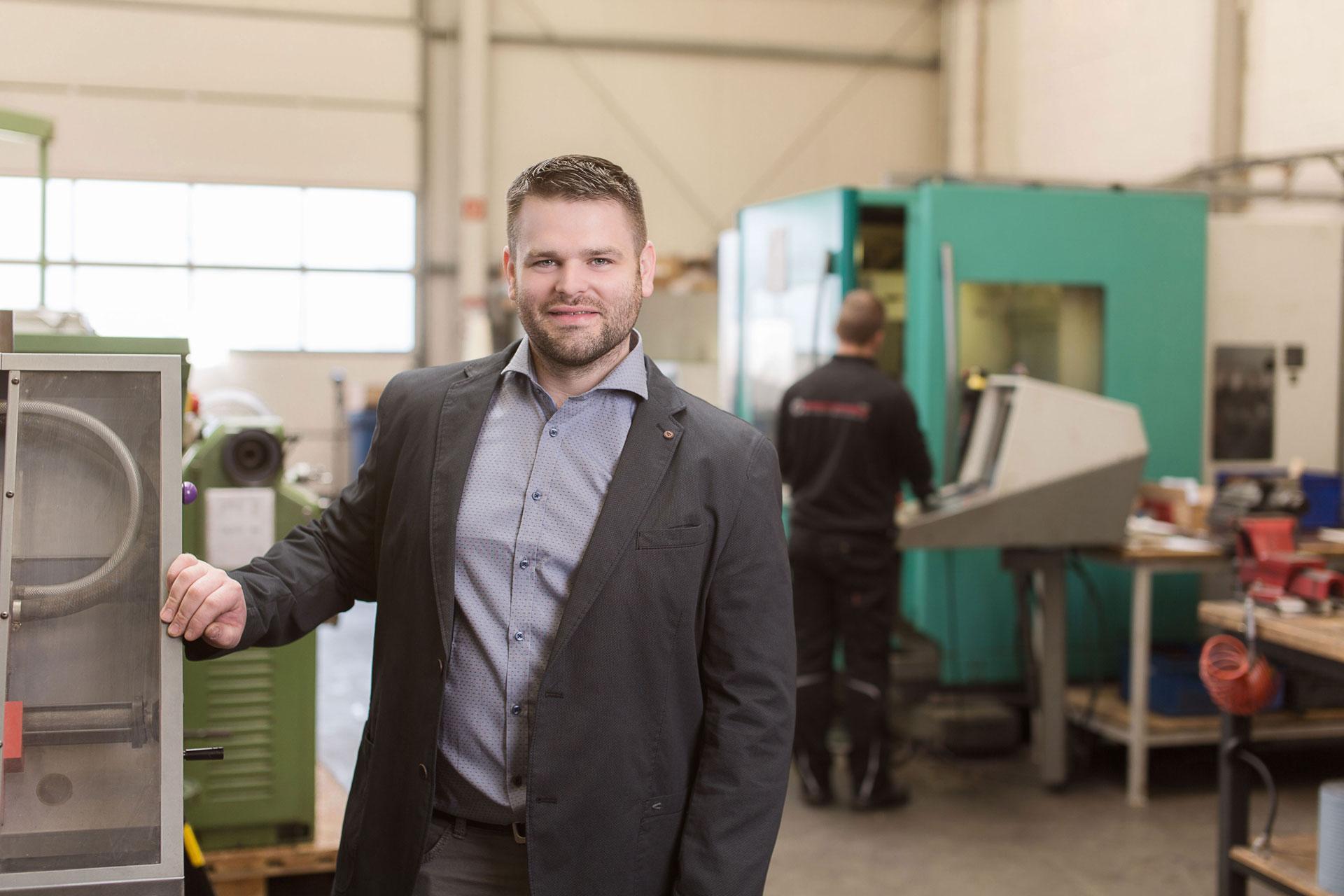 Marcel Wessels Inhaber von Maschinendoc